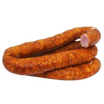 Homemade style smoked-boiled sausage - buy, prices for Auchan - photo 1
