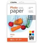 ColorWay Photo paper matte 190g/m, 10x15 PM190-50