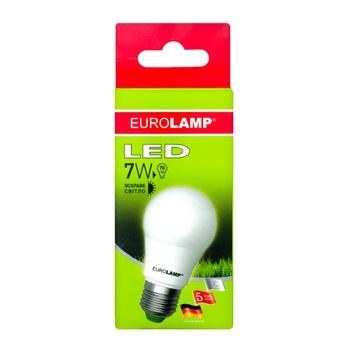Лампа светодиодная Eurolamp LED E27 7W 4000K - купить, цены на Ашан - фото 3