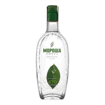Morosha Dzherelna 40% Vodka 0.37l - buy, prices for EKO Market - photo 1