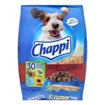 Chappi Dry food beef poultry and vegetables for dogs 2,7kg