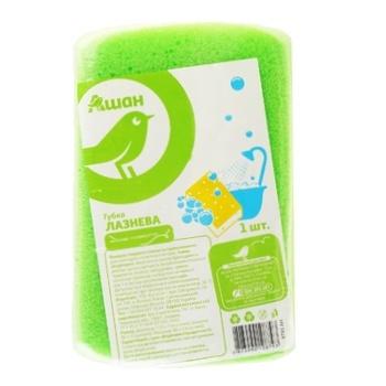 Губка Ашан банная - купить, цены на Ашан - фото 1