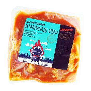 Шашлык свиной Глобино BBQ в маринаде