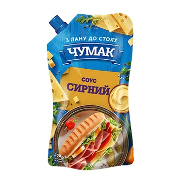 Соус Чумак сырный 200г - купить, цены на Novus - фото 1
