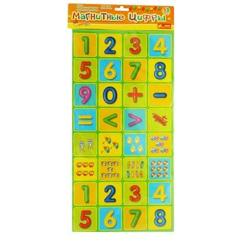 Игра развивающая Ranok-Creative Магнитные цифры - купить, цены на Ашан - фото 1