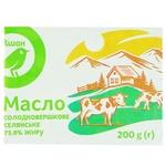 Auchan Selianske Sweet Cream Butter 73% 200g