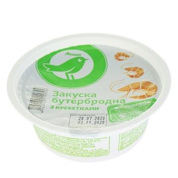 Закуска Ашан бутербродная с креветками 100г - купить, цены на Ашан - фото 1