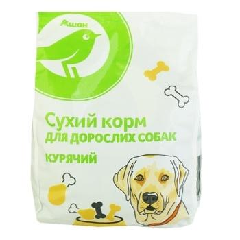 Сухий корм Кожен день для дорослих собак курячий 500г - купити, ціни на Ашан - фото 1