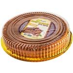 Коржі Домашні продукти бісквітні з какао для торта 400г