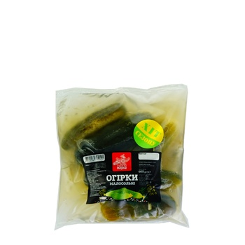 Chudova Marka Salted Cucumbers 300g - buy, prices for Furshet - image 1