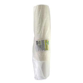 Стакан Каждый день бумажный одноразовый белый 250мл 50шт