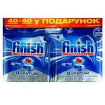 Таблетки Finish Quantum для посудомийних машин 40+40шт