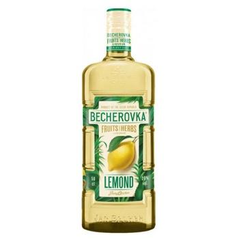 Ликерная настойка на травах Becherovka Lemond 38% 0,5л