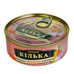 Brivais Vilnis Anchovies In Tomato Sauce with vegetables 240g