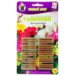Удобрение Чистий Лист для орхидей в палочках 30шт
