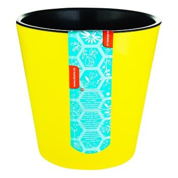 Aleana Deko Yellow Flowerpot 13cm