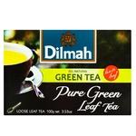 Tea Dilmah green loose 100g cardboard packaging