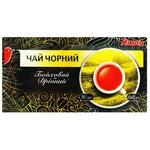Чай черный Ашан Байховый в пакетиках 25шт*2г