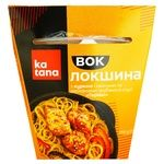 Katana Bean Noodles with Chicken, Vegetables and Wood Mushrooms in Teriyaki Sauce 250g