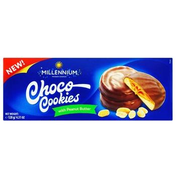 Millennium Cookies Peanut butter 136g - buy, prices for CityMarket - photo 1
