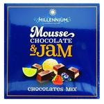 Конфеты шоколадные Millennium Mousse & Jam ассорти