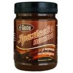 Арахісова паста El Gusto з чорним шоколадом 270г