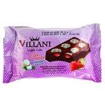 Вафли Villani шоколадные с клубничным кремом 50г - купить, цены на Ашан - фото 1