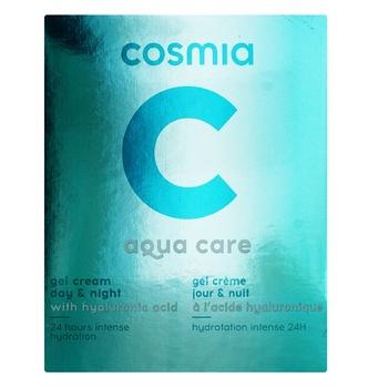 Крем-гель Cosmia для лица аква уход - купить, цены на Ашан - фото 1
