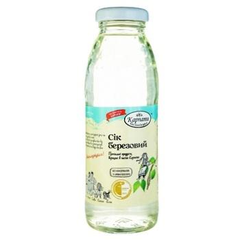 Karpaty nasolodzhuisia Birch Juice 300ml