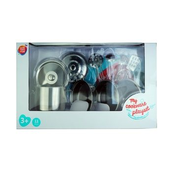 One two fun Set of Dishes My Cookware Playset Metal - buy, prices for Auchan - photo 1