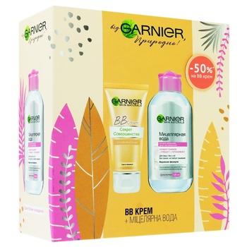 Подарочный набор Garnier Крем с тонирующим эффектом + мицеллярная вода
