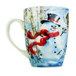 Milika Happy Snowman Porcelain Cup 360ml