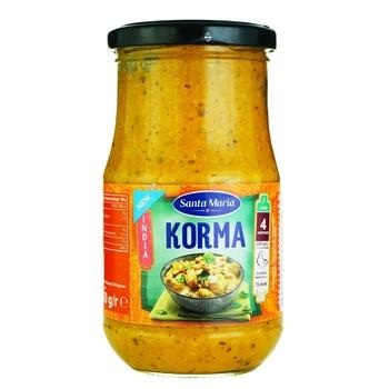 Соус индийский Santa Maria Korma 350г - купить, цены на Ашан - фото 1