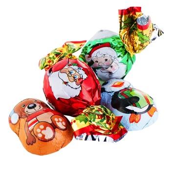 Конфеты Chocoland Рождественское пралине весовые