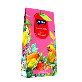 Набір подарунковий Aura Beauty Best Moments Крем для рук з алое вера 75мл + Крем для рук з медом 75мл - купити, ціни на Ашан - фото 1