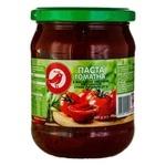 Паста томатна Ашан 25% 460г