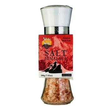 Sea & Sun Himalayan Mountain Big Salt 200g - buy, prices for Auchan - photo 1