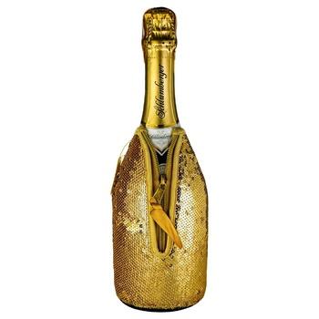 Вино ігристе Schlumberger Золотий Кулер 0,75л - купити, ціни на Ашан - фото 1
