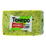 Сыр Комо Тенеро с базиликом 50% весовой
