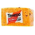 Komo Tenero Cheese with Tomatoes is 50% by Weight