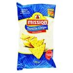 Чіпси Missions кукурудзяні з сіллю 175г