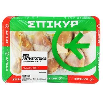 Голень Epikur цыпленка-бройлера охлажденная весовая (большой лоток)