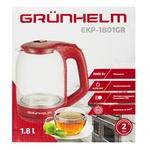 Електрочайник Grunhelm EKP-1801GR червоний 1,8л