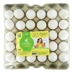 Яйця курячі Квочка харчові столові першої категорії 30шт