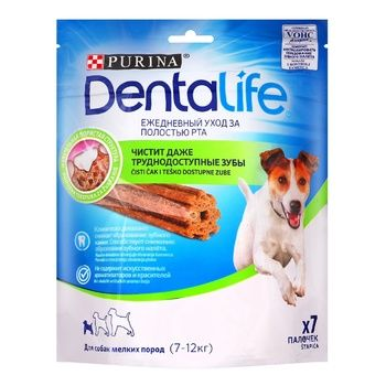 Purina DentaLife Delicacies for Dogs of Small Breeds 115g - buy, prices for Auchan - photo 1