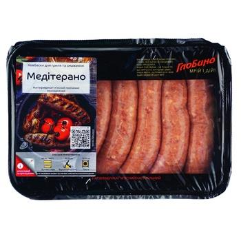 Колбаски Глобино Медитерано для гриля и жарки 600г