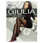 Колготы Giulia Headlines Nero 40 ден размер 3