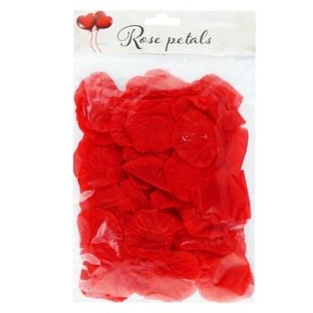 Конфеті Пелюстки троянди червоні і білі 100шт