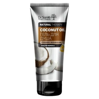 Gel Dr.sante with coconut flavor for shower 200ml Ukraine - buy, prices for Auchan - photo 1
