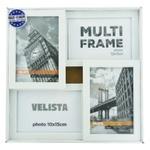 Мультирамка Velista для 4 фотографий 10*15см белая